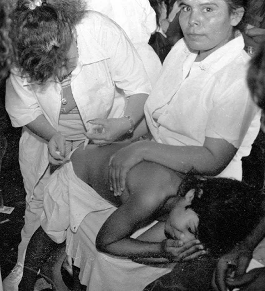 Comandos de Salvamento Clinica La Herradura Jul 1990