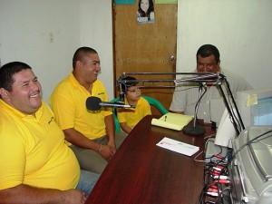 Entrevista en el Radio