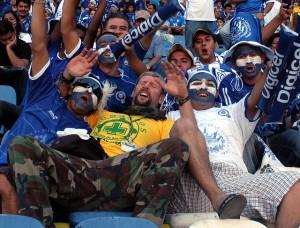 Gringo en Estadio Cuscatlan