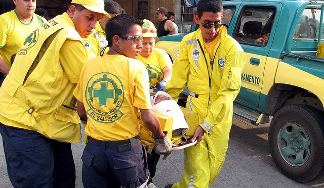 CDS EMS School Teaches Students of Mejicanos
