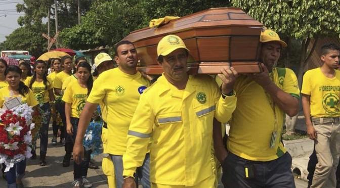 Muerte del joven voluntario Erick Beltrán