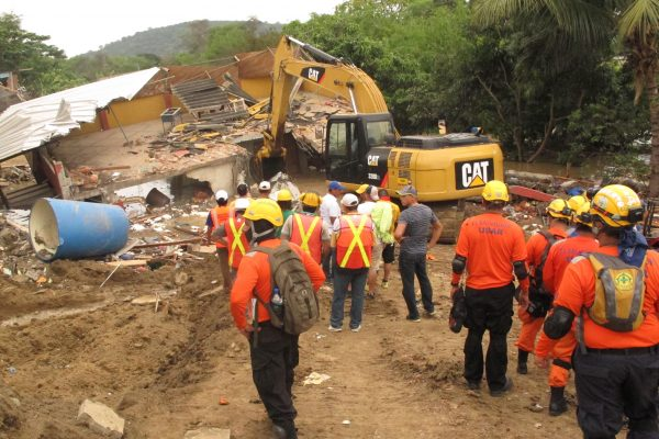 Asesoramiento en Ecuador por USAR El Salvador
