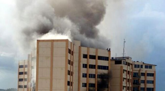 """Dept. of Treasury on Fire!""""Tres Torres"""""""