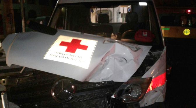 The Red Cross Suffers an MVA