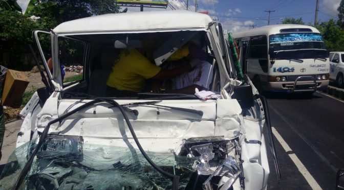 Extrication of Young Driver
