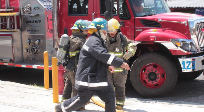 Mass Disaster Fire Simulated Excercise