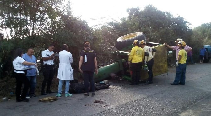 DOA due to Tractor Accident