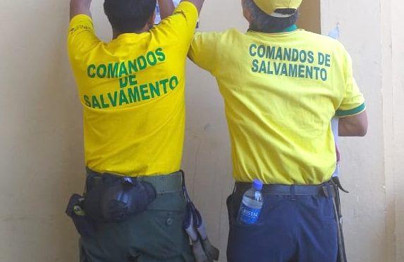 COMANDOS EN ALERTA POR PRIMER CASO COVID-19
